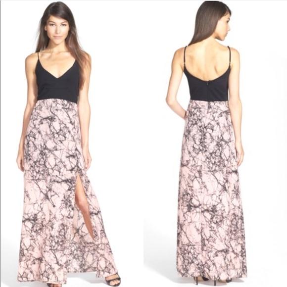 """Like Mynded Dresses & Skirts - LIKE MYNDED """"Colette"""" V-Neck Maxi Dress"""